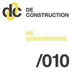 Cover of the album Deconstruction Reconstructed 010 - EP