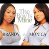 Cover of the track The Boy Is Mine