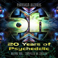 Cover of the track 20 Years of Psychedelic - Volume 1 - Compiled By Zorflux