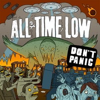 Couverture du titre Don't Panic