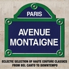 Cover of the album Paris Avenue Montaigne: Eclectic Selection of Haute Couture Classics from Bel Canto to Downtempo