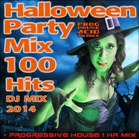 Cover of the track Halloween Party Progressive House Acid Trance Mix 100 Hits DJ Mix 2014 + 1 Hr Mix