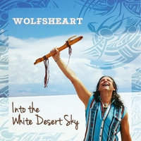 Cover of the track Into the White Desert Sky