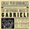 Couverture de l'album The Antiphonal Music of Gabrieli