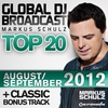 Couverture de l'album Global DJ Broadcast Top 20 - August/September 2012 (Including Classic Bonus Track)