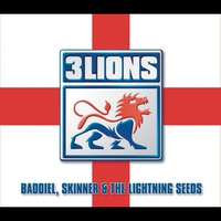 Couverture du titre Three Lions - Single