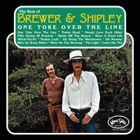 Couverture du titre The Best of Brewer & Shipley - One Toke Over the Line