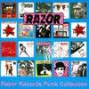 Couverture de l'album Razor Records: The Punk Singles Collection