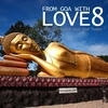 Cover of the album From Goa With Love 8 - 49 Psy-Trance & Goa Tunes