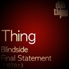 Couverture de l'album Blindside / Final Statement - Single