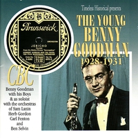 Cover of the track The Young Benny Goodman, 1928-1931