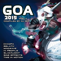 Cover of the track Goa 2015, Vol. 1