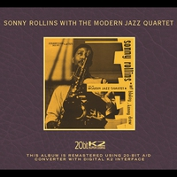 Cover of the track Sonny Rollins With the Modern Jazz Quartet (Remastered)
