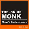Couverture de l'album Monk's Business, Vol. 1
