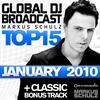 Cover of the album Global DJ Broadcast: Top 15 - January 2010 (Including Classic Bonus Track)