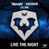 Couverture du titre live the night