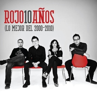 Cover of the track Rojo 10 Años