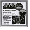 Cover of the album Black Vocal Groups, Vol. 7 (1927-1941)