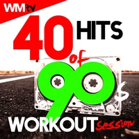 Couverture du titre 40 Hits Of 90s Workout Session (Unmixed Compilation for Fitness & Workout 128 - 160 BPM)