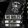 Cover of the album No Rules, No Laws, No Regrets