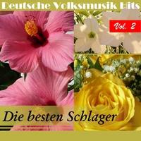 Couverture du titre Deutsche Volksmusik Hits: Die besten Schlager, Vol. 2