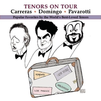 Couverture du titre Tenors on Tour
