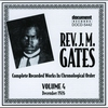 Cover of the album Rev. J.M. Gates Vol. 5 (1927)