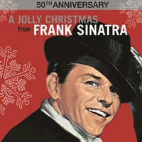 Couverture du titre A Jolly Christmas from Frank Sinatra (50th anniversary)