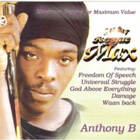Cover of the track Jet Star reggae Max Presents.......Anthony B