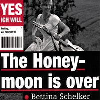 Cover of the track The Honeymoon Is Over