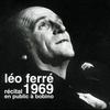 Couverture de l'album Récital en public à Bobino (live 1969)