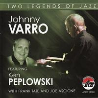 Couverture du titre Johnny Varro featuring Ken Peplowski: Two Legends of Jazz