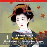 Cover of the track Giacomo Puccini: Madame Butterfly (Gavazzeni,De Los Angeles,Di Stefano) [1954], Vol. 1