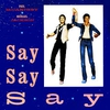 Cover of the track Say say say (1983)
