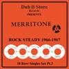 Cover of the album Merritone Rocksteady 1966 to 1967 - 10 Rare Singles Set Pt. 3