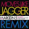 Couverture du titre Moves Like Jagger (feat. Christina Aguilera & Mac Miller) [Remix]