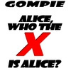 Couverture de l'album Alice (Who the X Is Alice) - Single