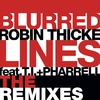 Cover of the album Blurred Lines (The Remixes) [feat. T.I. & Pharrell Williams] - Single