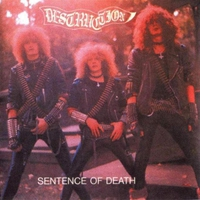 Cover of the track Infernal Overkill/Sentence of Death