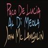 Couverture de l'album Guitar Trio - Paco De Lucía/John McLaughlin/Al Di Meola