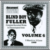 Couverture de l'album Blind Boy Fuller Vol. 1 1935 - 1936