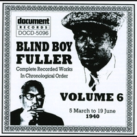 Cover of the track Blind Boy Fuller Vol. 1 1935 - 1936