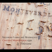 Cover of the track Monteverdi Edition - Claudio Monteverdi: Secondo Libro dei Madrigali