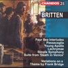 Cover of the album Britten: Orchestral Works