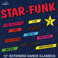 """Cover of the track 12"""" Extended Dance Classics: Star-Funk, Vol. 18"""