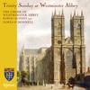 Couverture de l'album Trinity Sunday at Westminster Abbey