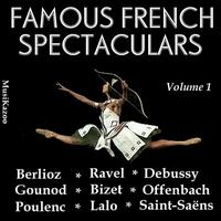 Couverture du titre Famous French Spectaculars, Vol. 1