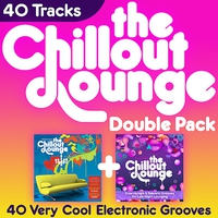 Couverture du titre The Chillout Lounge Double Pack - 40 Very Cool Electronic Grooves - Vol. 2