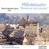 Cover of the track Six Romances Sans Paroles Sechs Lieder Ohne Worte Opus 53 - I. (Mendelssohn)
