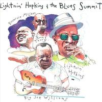 Couverture du titre Lightnin' Hopkins & The Blues Summit
